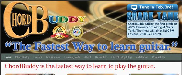 Chord Buddy Guitar Lessons