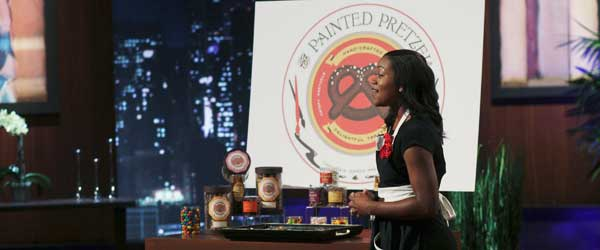 Raven Thomas from Painted Pretzel Company on Shark Tank
