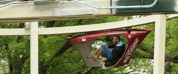 Skyride Monorail Bike