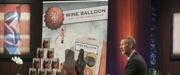 Wine Balloon on Shark Tank
