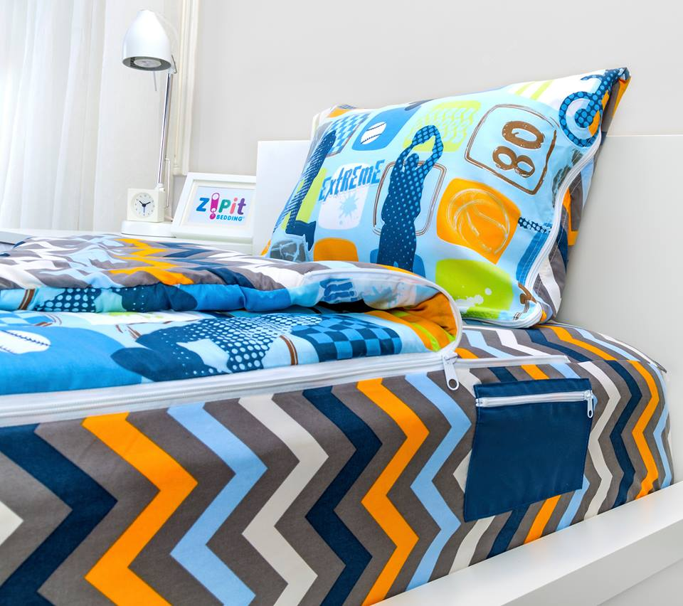 zipit bedding - shark tank blog