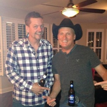 kevin fowler with Thom Shepherd and a BevBuckle