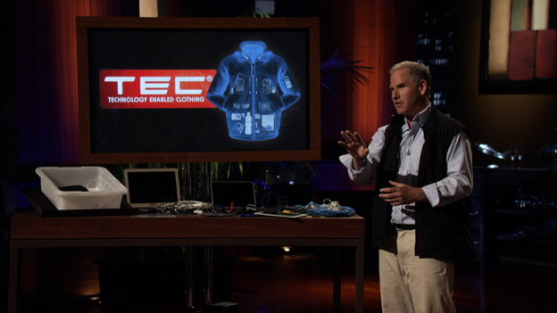 scott jordan technology enabled clothing on shark tank scottevest